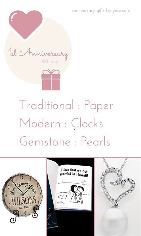 17 Best images about 1st Wedding Anniversary Gift Ideas on