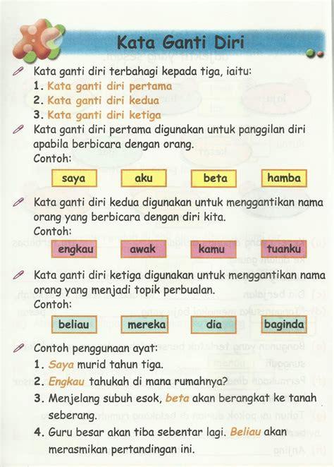 mari belajar bahasa malaysia kata ganti nama diri