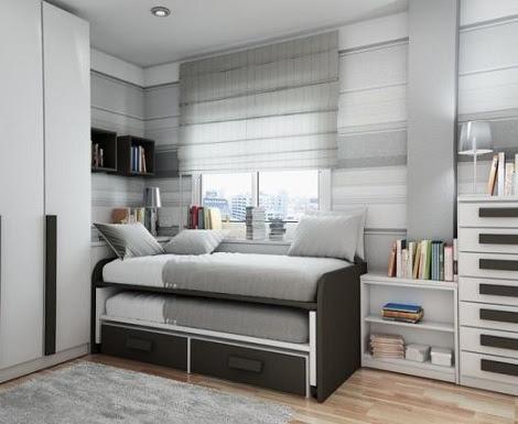 Dormitorio muebles modernos habitaciones juveniles para - Habitaciones juveniles para chicos ...