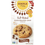 Simple Mills: Soft Baked Chocolate Chip Cookies, 6.2 Oz