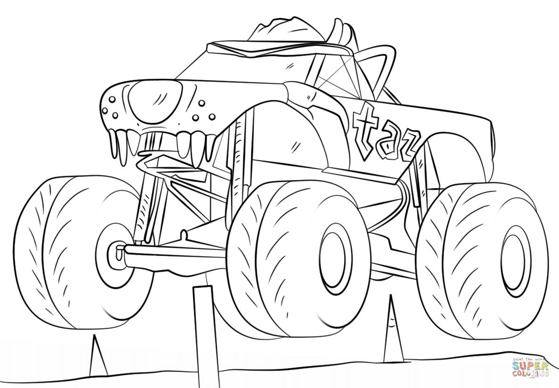 Klick das Bild Taz Monster Truck