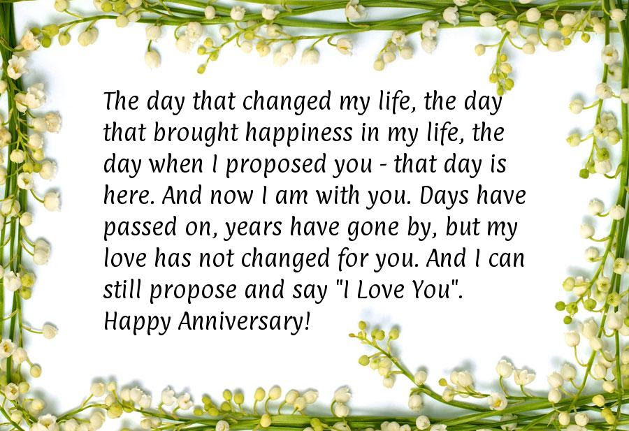 Wedding Anniversary Wishes For My Husband