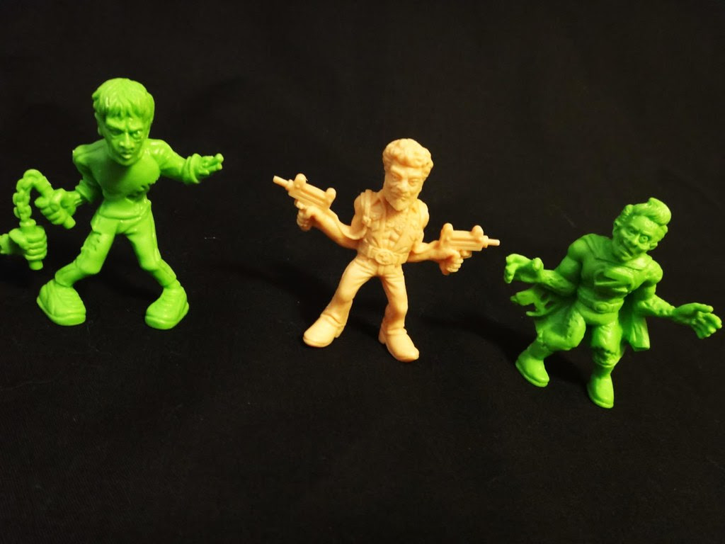 SLUG Zombies series 3 Jeet Kune Dead, Johnny Two-Guns, Zero Hero