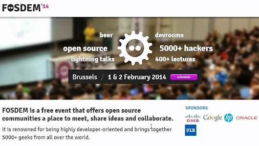 OLIMEX is approved to have Open Source Hardware stand at FOSDEM 2014