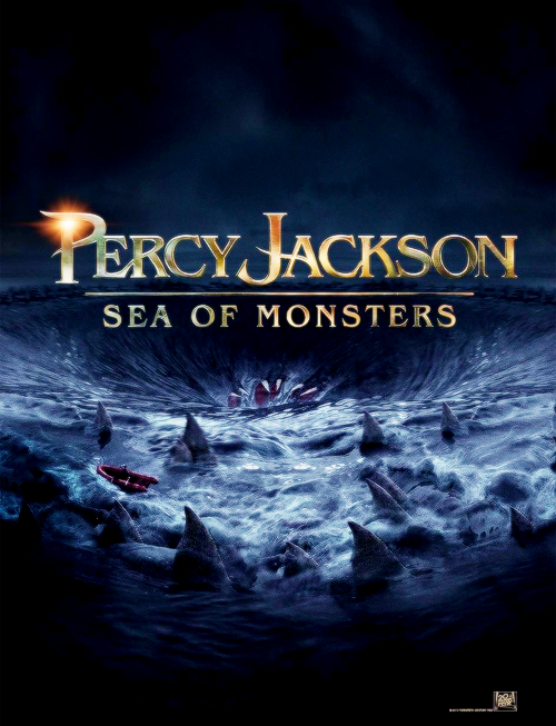 First official poster for Percy Jackson: Sea of Monsters.