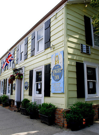 The Olde Angel Inn is the oldest operating inn in Ontario.