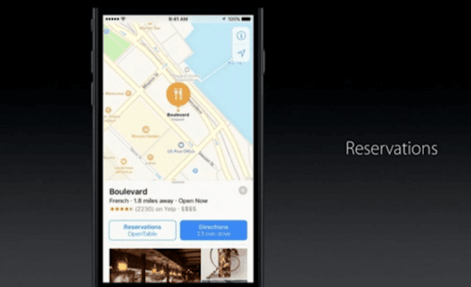 Apple Maps becomes a platform with new extensions for third-party apps