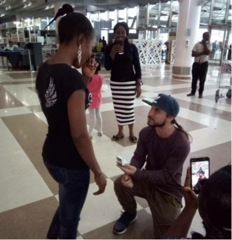 Pre-Wedding Photos Of American Man Who Proposed To His Nigerian Girlfriend At First Meeting