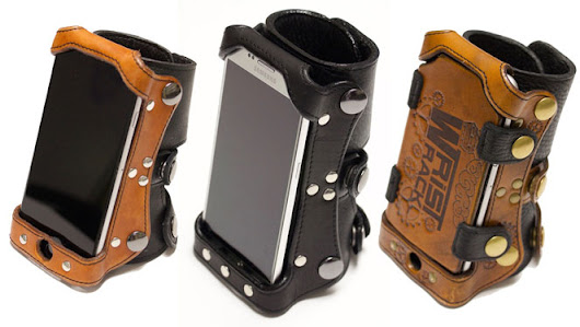 Wrist Rack: Wearable Smartphone Holder - Cool Wearable