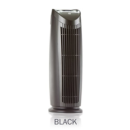 HEPA Air Purifiers ⇒ Alen T500 Tower Air Purifier with HEPA-Pure Filter for Allergies and Dust (Black, 1-Pack)