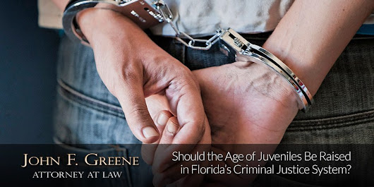 Should Age of Juveniles Be Raised in Florida's Criminal Justice System?