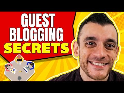 Landing a Spot For Guest  Contributions and How to Improve Your Page Rank