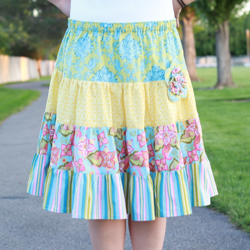 Butterfly Kisses' Emma Skirt by replicate then deviate squared image