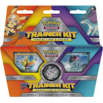 Pokemon - XY - Trainer Kit - Pikachu Libre and Suicune