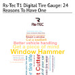 Infographic: Rs-Tec T1 Digital Tire Gauge: 24 Reasons To Have One | Infogram