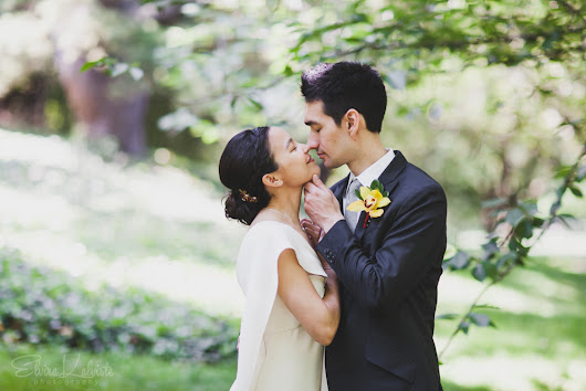 Brooklyn Botanic Garden Wedding Photography - Diana and Kevin