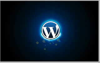 Creating A Lens Flare With The Wordpress Logo