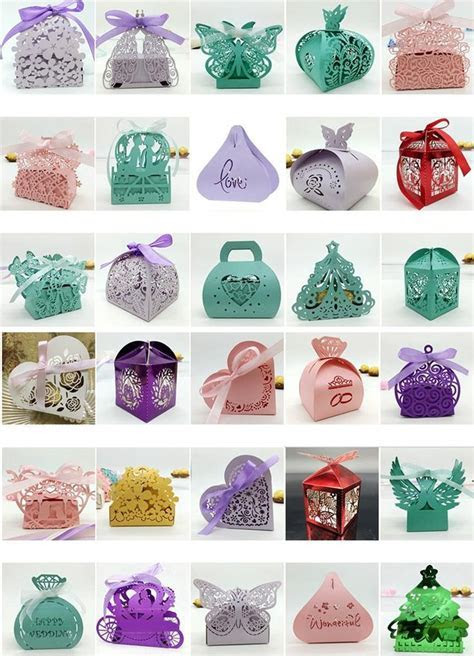 1000  ideas about Wedding Favor Boxes on Pinterest