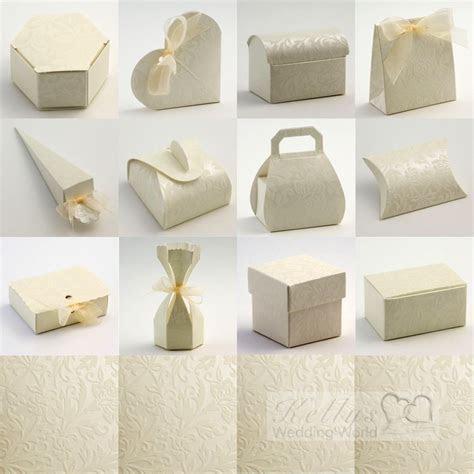Diamante Ivory Wedding Favour Boxes   eBay