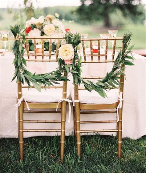 outdoor wedding chair design