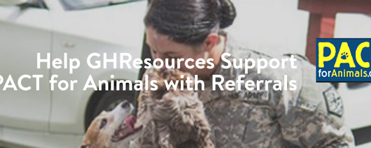 Help GHResources Support PACT for Animals with Referrals - General Healthcare Resources, Inc.