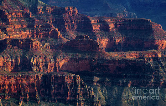 Ancient Geological Formations North Rim Grand Canyon Np Arizona by Dave Welling