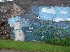 history mural in Saint John