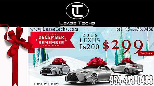 Holiday Season Lease Specials
