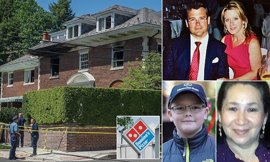 Killers ordered pizza from Domino's as they tortured CEO and family