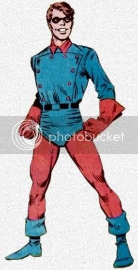 Bucky com seu visual dos anos 40