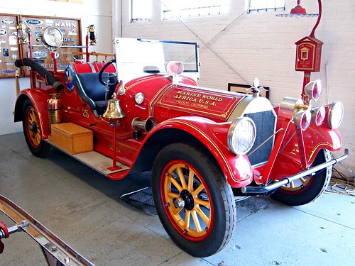 1919 Pierce Arrow Marine World Fire Engine 3 by Jack_Snell