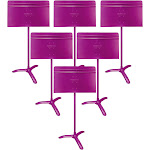 Manhasset Model #48 Symphony Music Stand 6-Pack Purple