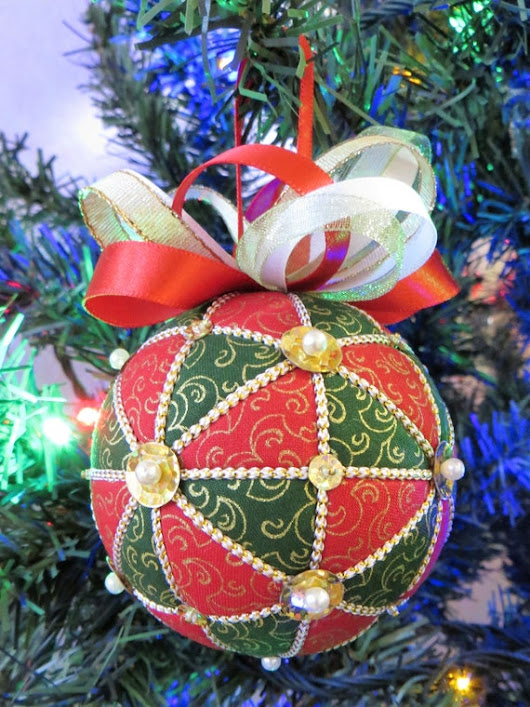 Christmas Ornament Tutorial  Pattern  by OrnamentDesigns on Etsy