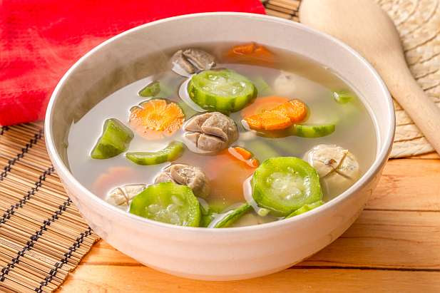Sup Oyong Wortel Bakso Resep Dari Dapur Kobe