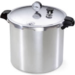 Presto 23-Quart Pressure Cooker and Canner - Stainless Steel