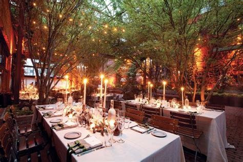 New York Wedding Guide   The Reception   Indoor Outdoor