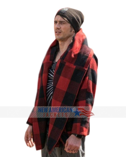 James Franco Why Him Red Plaid Jacket - New American Jackets