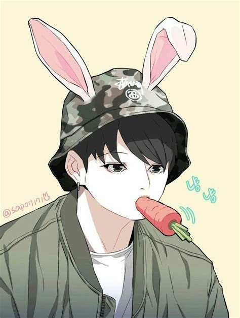 bts jungkook anime wallpaper theme anime