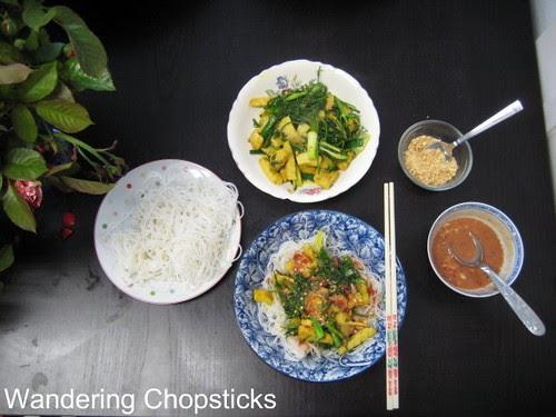 Cha Ca Thang Long (Vietnamese Hanoi-style Turmeric Fish with Dill) 11