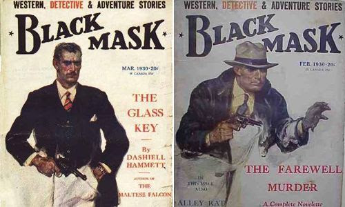Portadas de la revista Black Mask