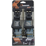 Keeper 47310 Ratchet Tie Down Strap, Camouflage, 10' L