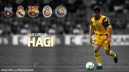 Gheorghe Hagi - complete career stats, games and goals by club