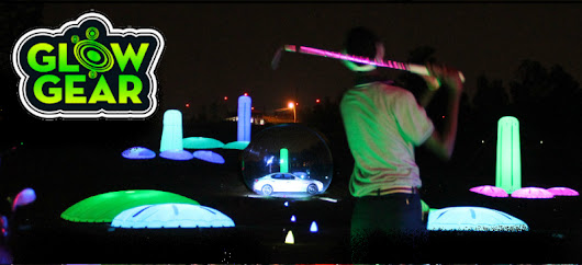 Glow Gear - Cosmic Night Golf and Cosmic Driving Range at PGA Show