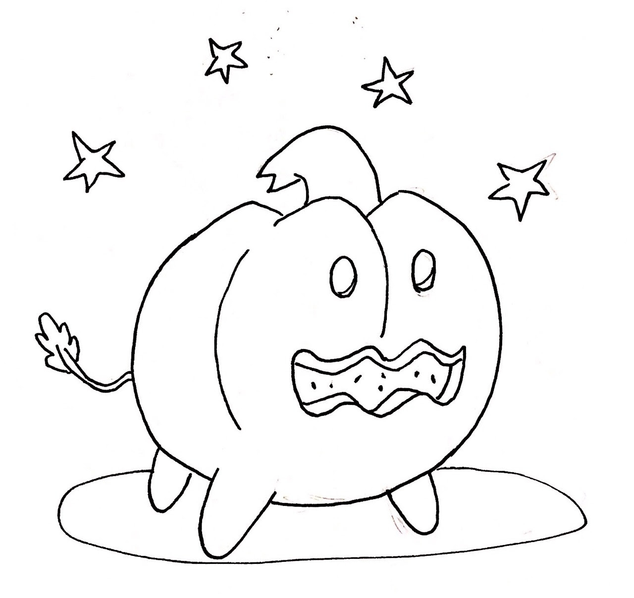 Inktober day 25: Pumpkin