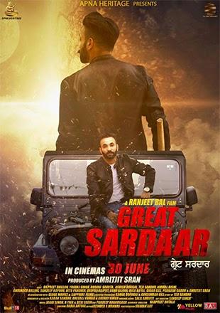 Great Sardaar 2017 Punjabi 720p WEB-DL 800mb