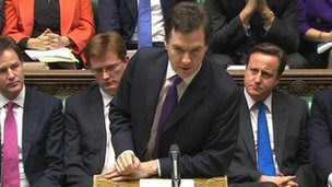 UK Chancellor of the Exchequer George Osborne