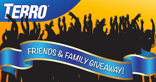 Enter the TERRO Friends & Family Giveaway! Ends May 25.