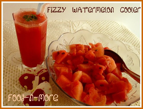 Fizzy Watermelon Cooler
