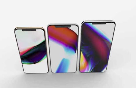 2018 iPhone Leaks! More Screen, Less Notch And a 6.1-inch iPhone - Unshootables