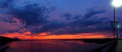 Big Dam Sunset Pan